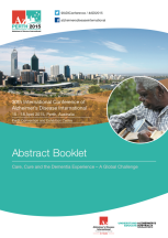 portada abstract booklet